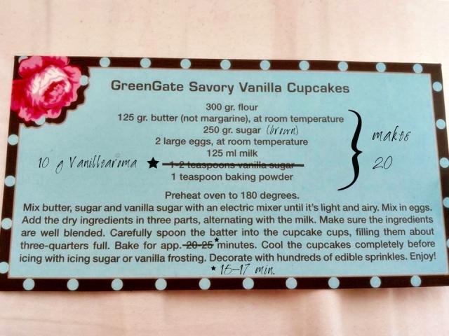 Vanilla Cupcakes Recipe von Frollein C.